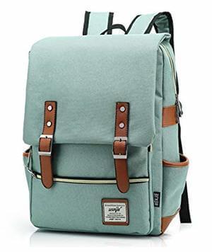 HITOP Preppy Style Casual Unisex Waterproof Oxford School Backpack