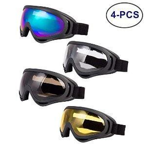 LJDJ Ski Goggles