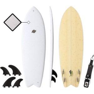 "SBBC 5'8"" Soft Top Surfboard"