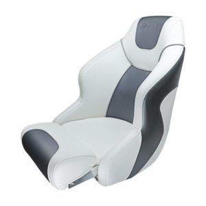 Seamander S1045 Series Premium Bucket Seat, Sport Flip Up Seat, Captain Seat