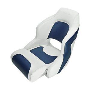 Seamander S1043 Series Premium Bucket Seat, Sport Flip Up Seat, Captain Seat