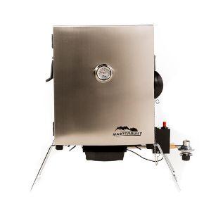 Masterbuilt Compact Outdoor Portable Propane BBQ Smoker Grill