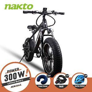 NAKTO Electric Bike City Cargo Ebike
