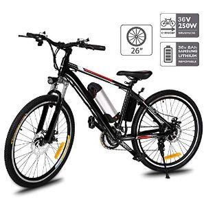 Aceshin 26'' Electric Mountain Bike