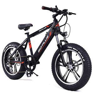 """Goplus 20"""" Electric Mountain Bike"""