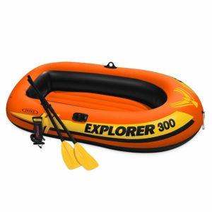 Intex Explorer 3-Person Inflatable Boat.