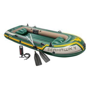 Intex Seahawk 4-Person Aluminum Inflatable.