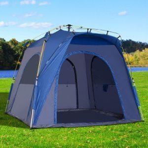 Outsunny 3-Season 5-Person Pop Up Tent