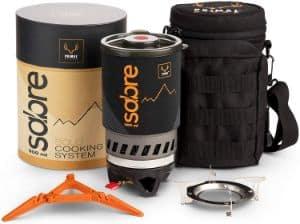 Portable Gas-Jet-Burner Backpacking Stove