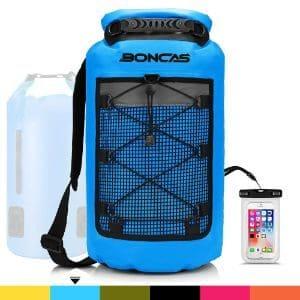 Boncas 20-Liter Waterproof Dry Bag