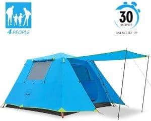 Kazoo family camping tent