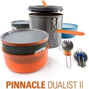 GSI Outdoors Pinnacle Dualist II Camping Cook Set