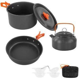 Sempiyi Portable Camping Cookware Set