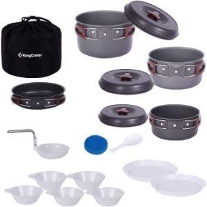 KingCamp Camping Cookware Mess Kit