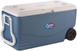 Coleman 100-Quart Xtreme Cooler with Wheels-min
