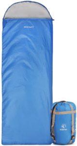 """REDCAMP Ultra Lightweight Sleeping Bag (87"""" x 32.5"""")"""