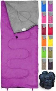 REVALCAMP Lightweight Sleeping Bag for Indoor & Outdoor Use