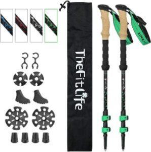 TheFitLife Carbon Fiber Trekking Poles