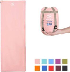 WERTYCITY Sleeping Bag in light pink