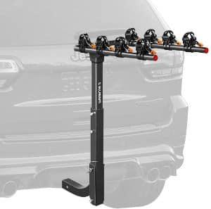 IKURAM 4 Bike Bicycle Carrier Rack