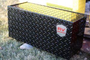 RV Armor Battery Lock Box